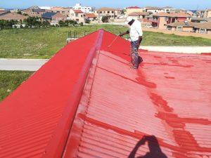 Rubberising specialists roof repair