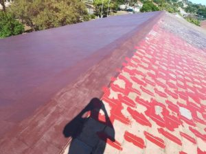 roof rubber coating